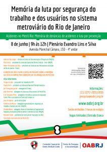 cartaz_PESQUISA_Memória da luta por segurança do trabalho e dos usuários no sistema metroviário do Rio de Janeiro (1) (1)