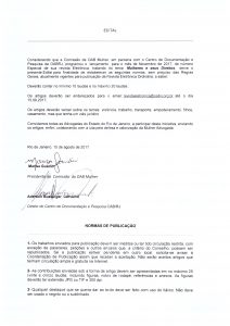 Edital - Comissão OAB Mulher