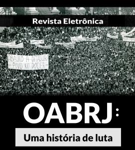 capa revista OABRJ uma história de luta